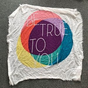 Be true to you scarf